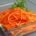 Морковь по-корейски за пять минут