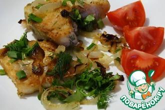 Рецепт: Жареная рыба по-казачьи