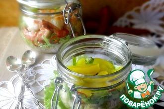Рецепт: Пряный салат с рисом