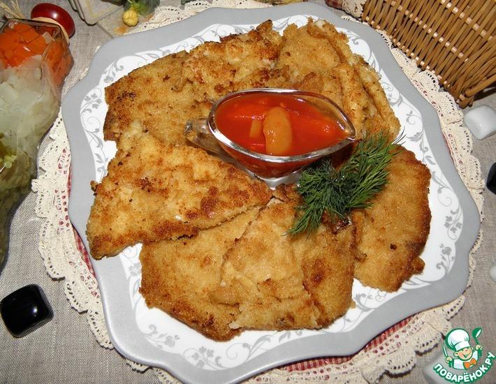 Рецепт: Королевские кальмары Идея от Сергея