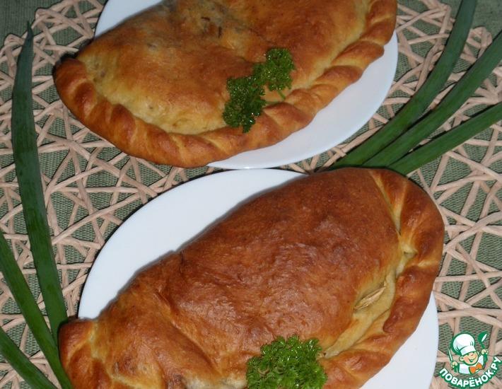 Рецепт: Горчичные пироги с красным рисом