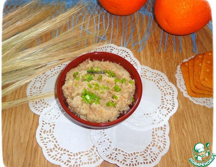 Рецепт: Рыбно-чечевичный паштет
