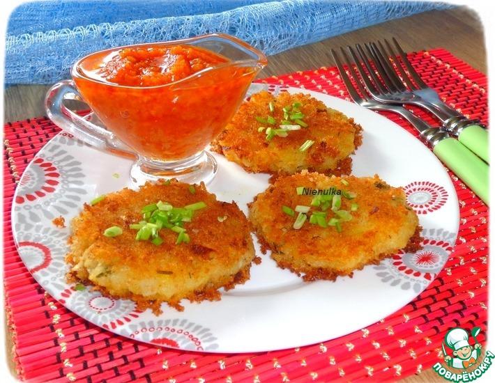 Рецепт: Имбирно-картофельные котлеты с чечевицей