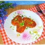 Морковно-фасолевые котлеты