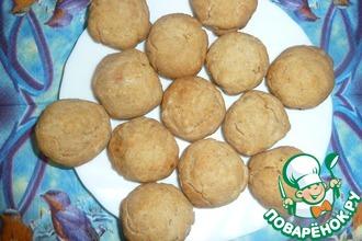 Рецепт: Постное печенье из варенья