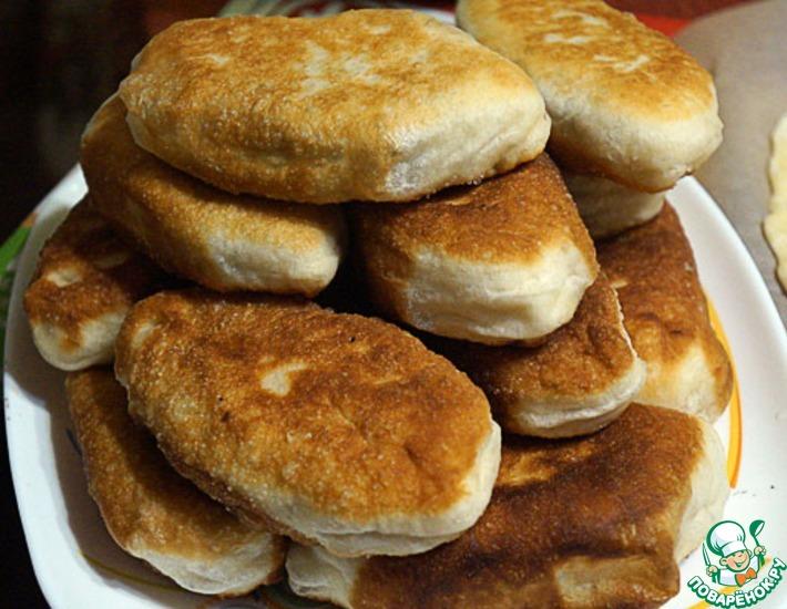 Рецепт: Пирожки с черемшой и яйцом
