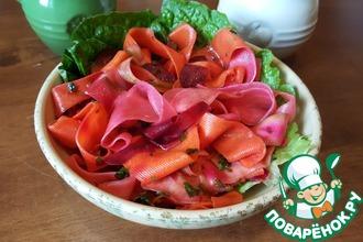Рецепт: Салат Маринованные овощи за 1.5 часа