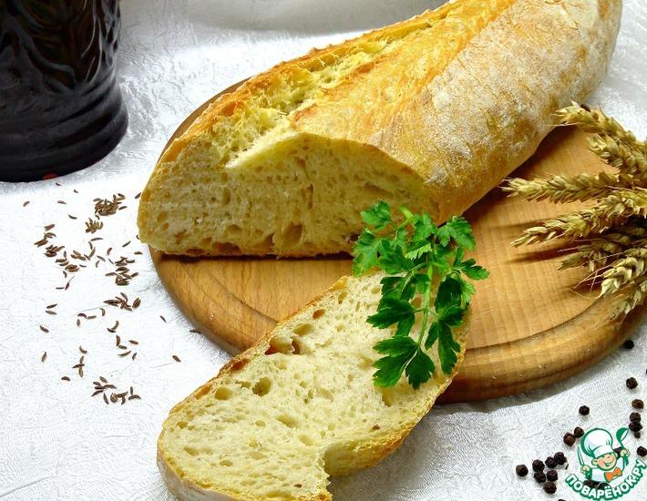 Рецепт: Деревенский хлеб из Апулии
