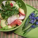 Салат Фруктово-овощная гармония