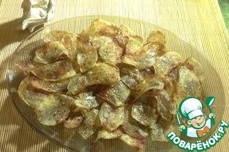 Рецепт: Домашние картофельные чипсы