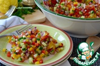 Рецепт: Израильский салат