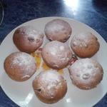 Постные кексы с черносливом или изюмом