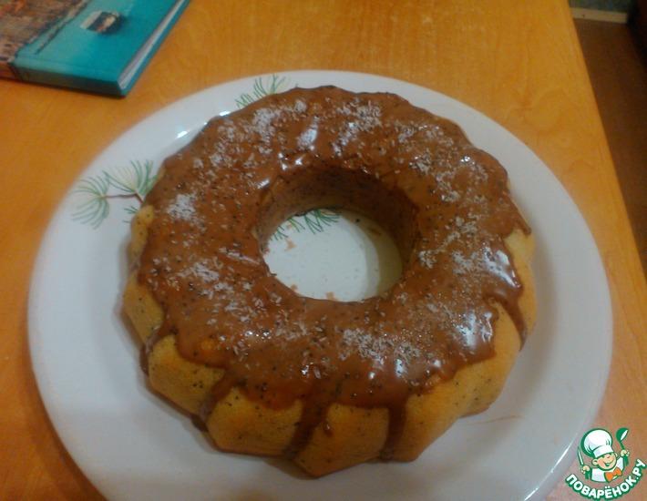 Рецепт: Маковый кекс простой