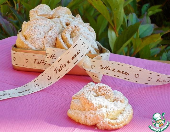 Рецепт: Итальянское сливочное печенье