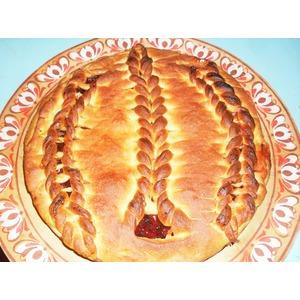 Пирог Вишня в желе