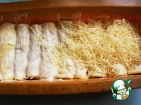 Яичные рулеты с грибами ингредиенты