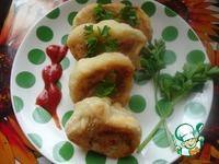 Картофельный рулет с помидорами и зеленью ингредиенты