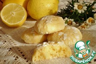 Рецепт: Итальянское лимонное печенье