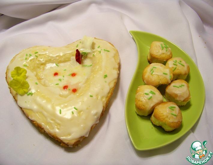 Рецепт: Итальянское пирожное с белым шоколадом