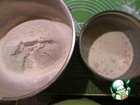 Ванильный кулич с изюмом и меренгой ингредиенты