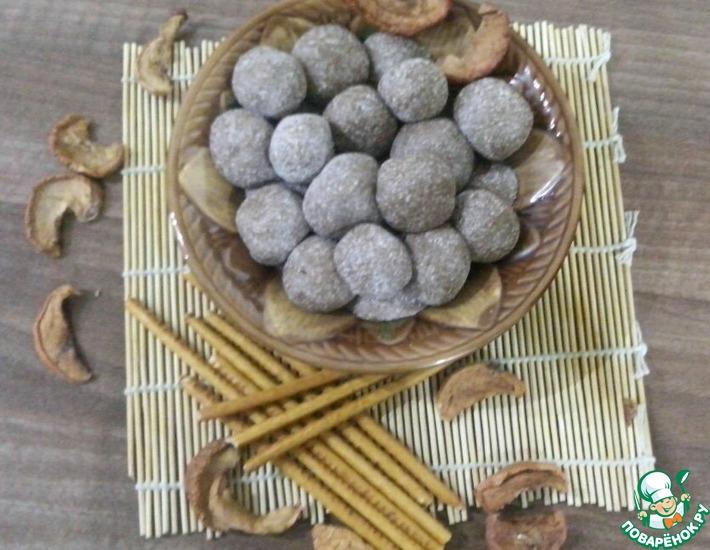 Рецепт: Конфеты из детской растворимой каши