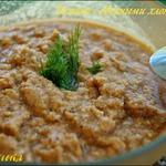 Холодный томатный суп с овсяными хлопьями