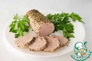 Sausage homemade pork low-fat