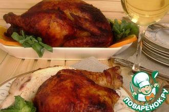 Рецепт: Острая курица в пряном маринаде