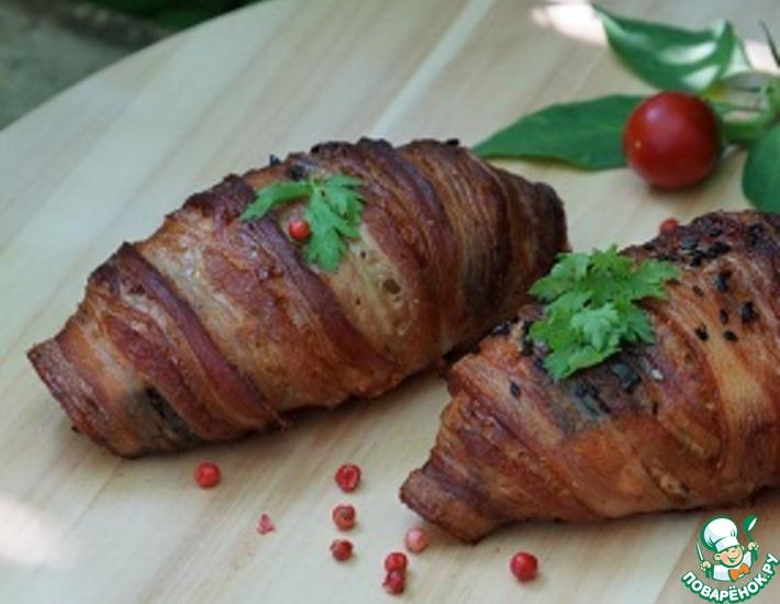Рецепт: Мясные круассаны