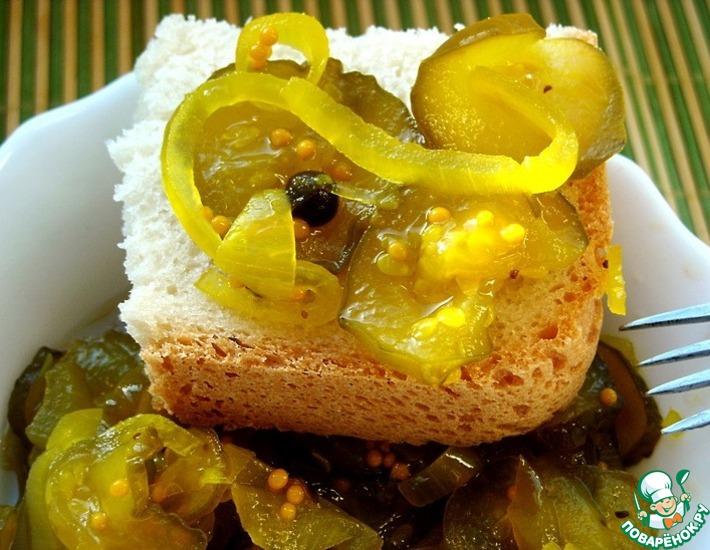 Рецепт: Пикули из огурцов для бутербродов