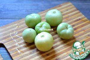 Зеленые помидоры Закусочные фото