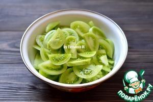Зеленые помидоры Закусочные ингредиенты