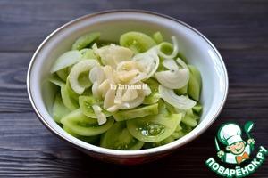 Зеленые помидоры Закусочные Помидор