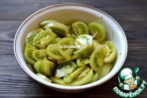 Зеленые помидоры Закусочные Перец чили