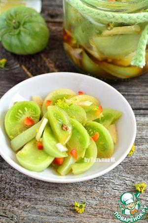 Зеленые помидоры Закусочные Масло растительное