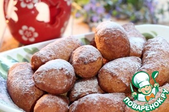 Рецепт: Итальянские пончики Зэпполе