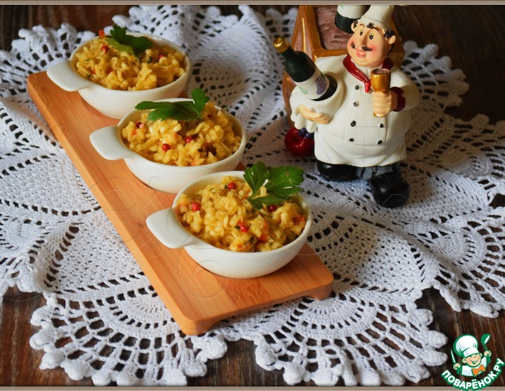 Рецепт: Закуска Макаронный сыр