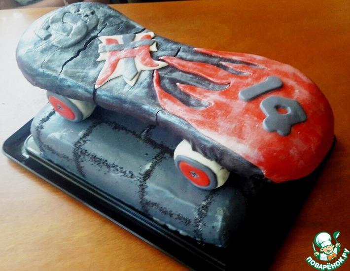 Рецепт: Торт Праздничный
