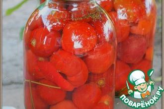 Рецепт: Консервированные помидоры Чуйские