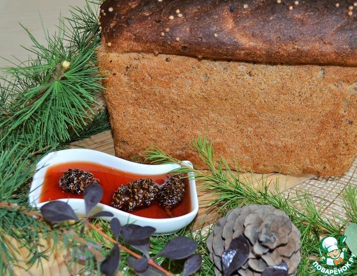 Рецепт: Хлеб ржано-пшеничный Таежный