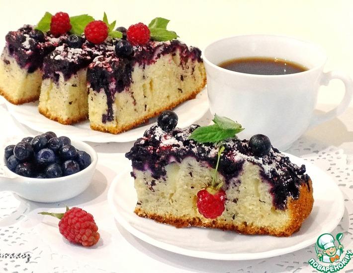 Рецепт: Черничный торт