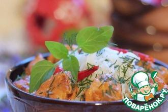 Рецепт: Тикка масала с рисом