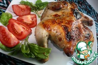 Рецепт: Курица по-арабски