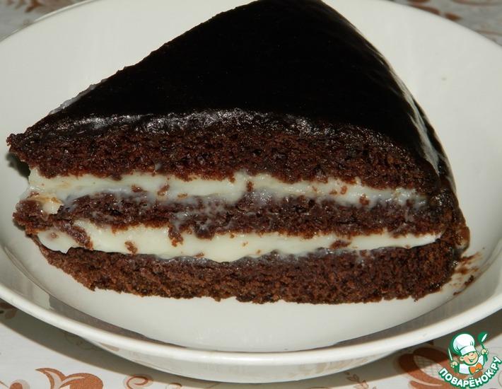 Рецепт: Безумный торт