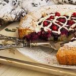 Шведский пирог с лесными ягодами