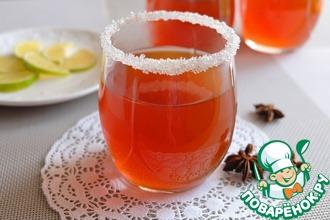Рецепт: Кисель из ягод шиповника с бадьяном