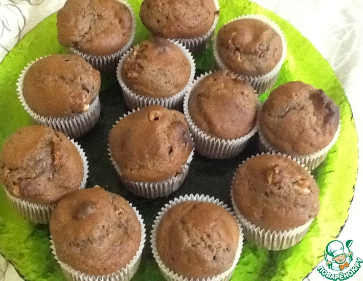Рецепт: Клубнично-зефирные кексы