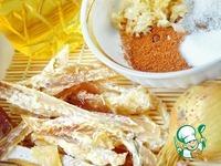 Закуска из сушеного минтая по-корейски ингредиенты