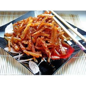 Закуска из сушеного минтая по-корейски