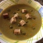 Лёгкий гороховый суп Простейший